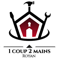Logo 1 coup 2 mains
